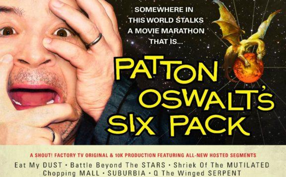 patton oswalt six pack movie marathon shout factory