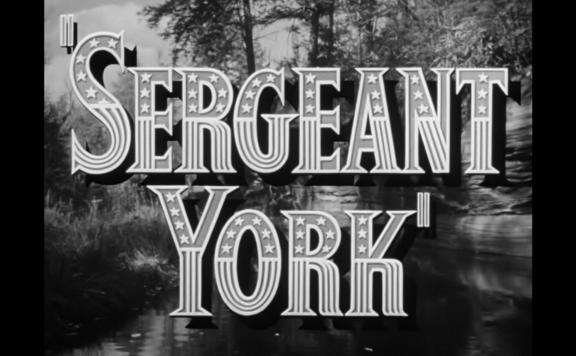 sergeant york title