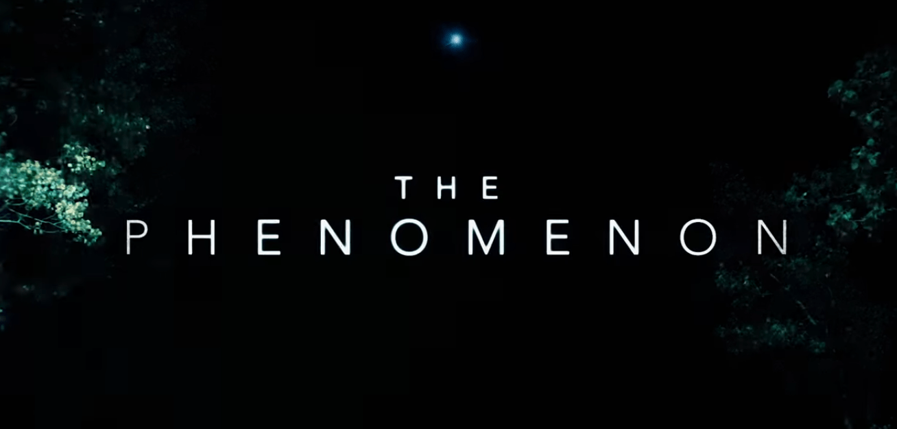 the phenomenon title card