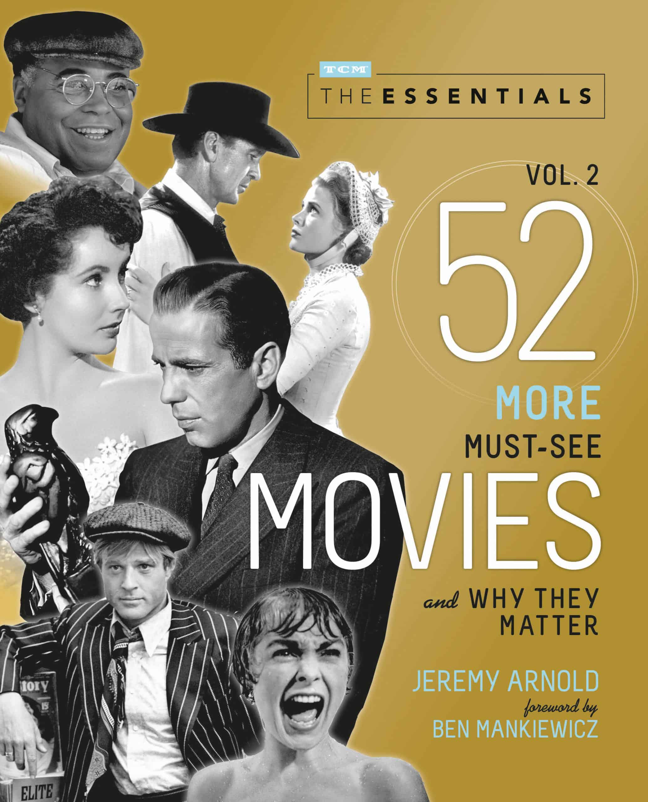 52 movies Turner Classic Movies Essentials Vol 2 book