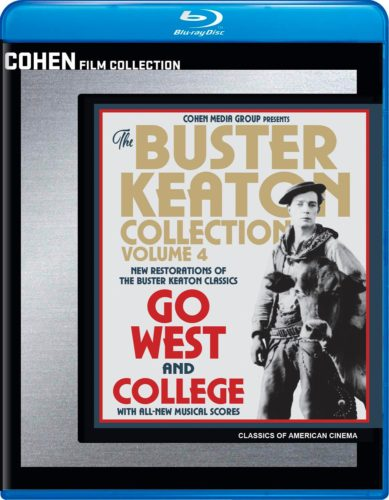 go west college cohen buster keaton blu ray