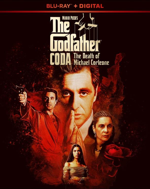 The Godfather Coda The Death of Michael Corleone Blu-ray