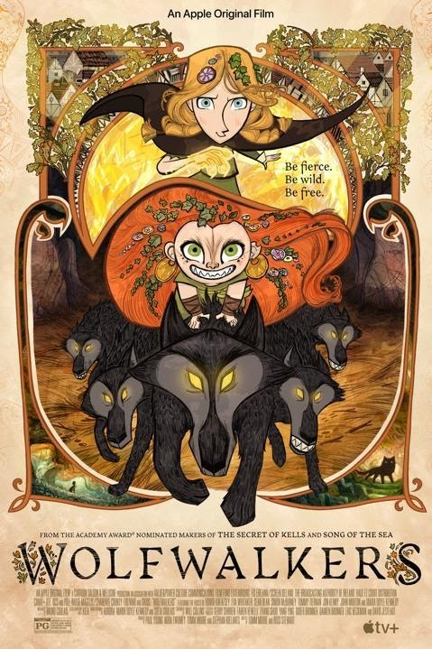 wolfwalkers poster blu-ray reviews
