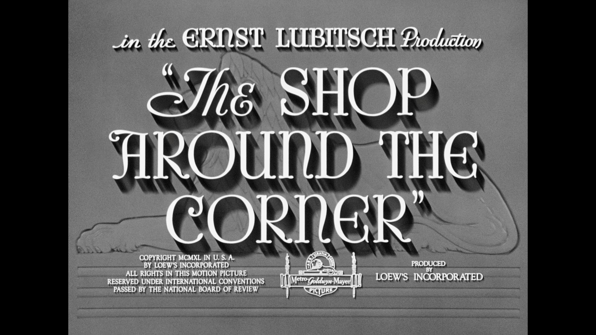 Shop Around the Corner main title