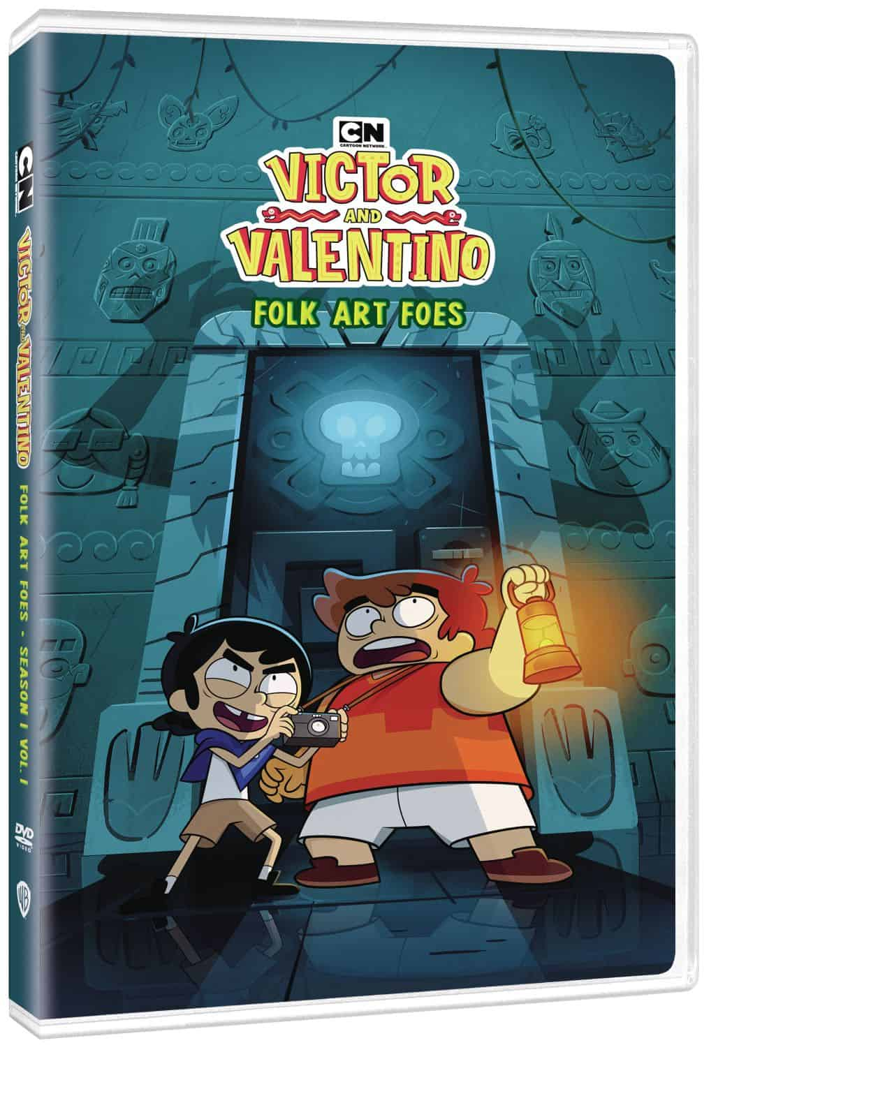 Victor and Valentino: Folk Art Foes - The Supernatural Series is Available on DVD March 2 2