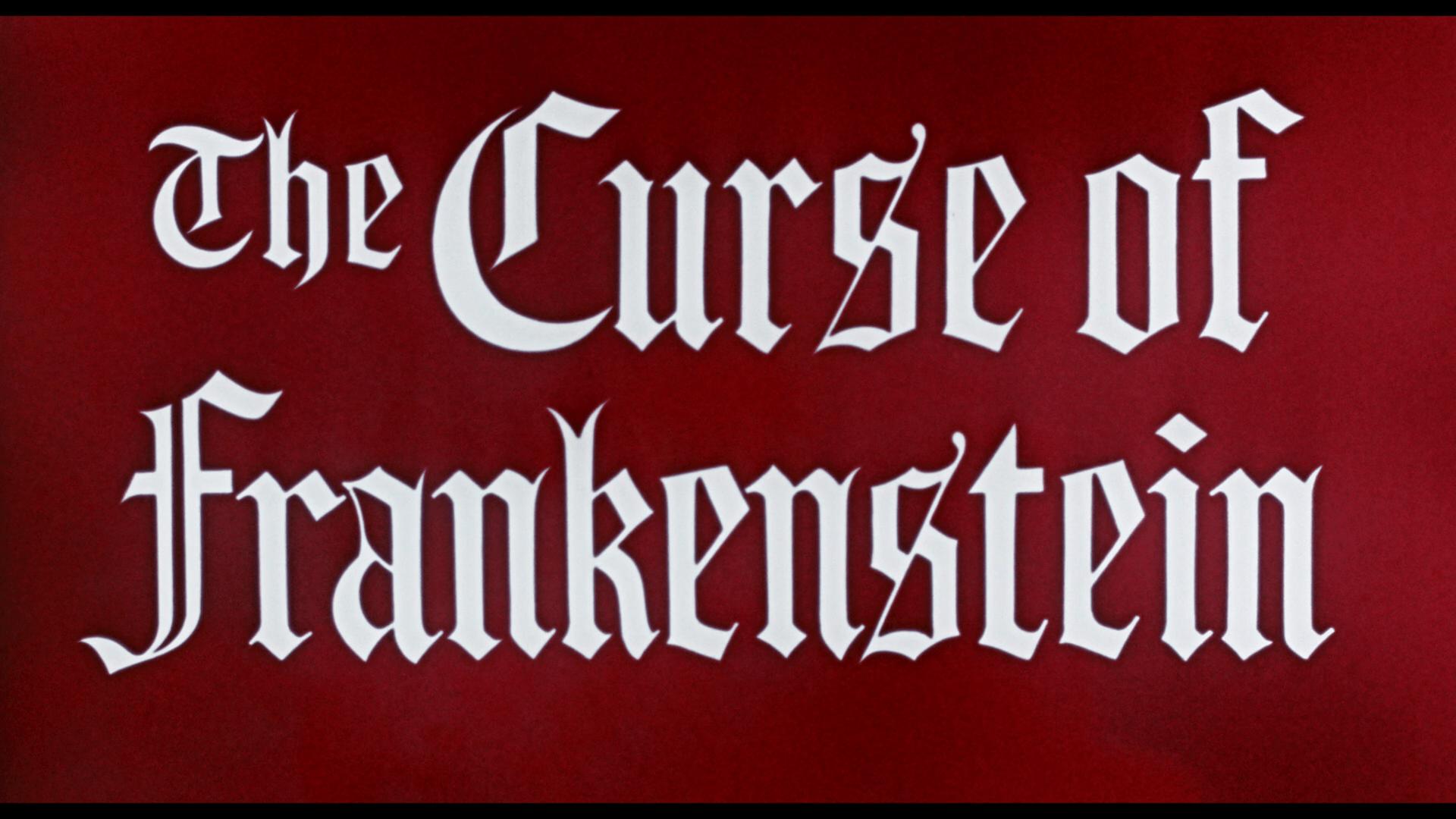 curse of frankenstein title