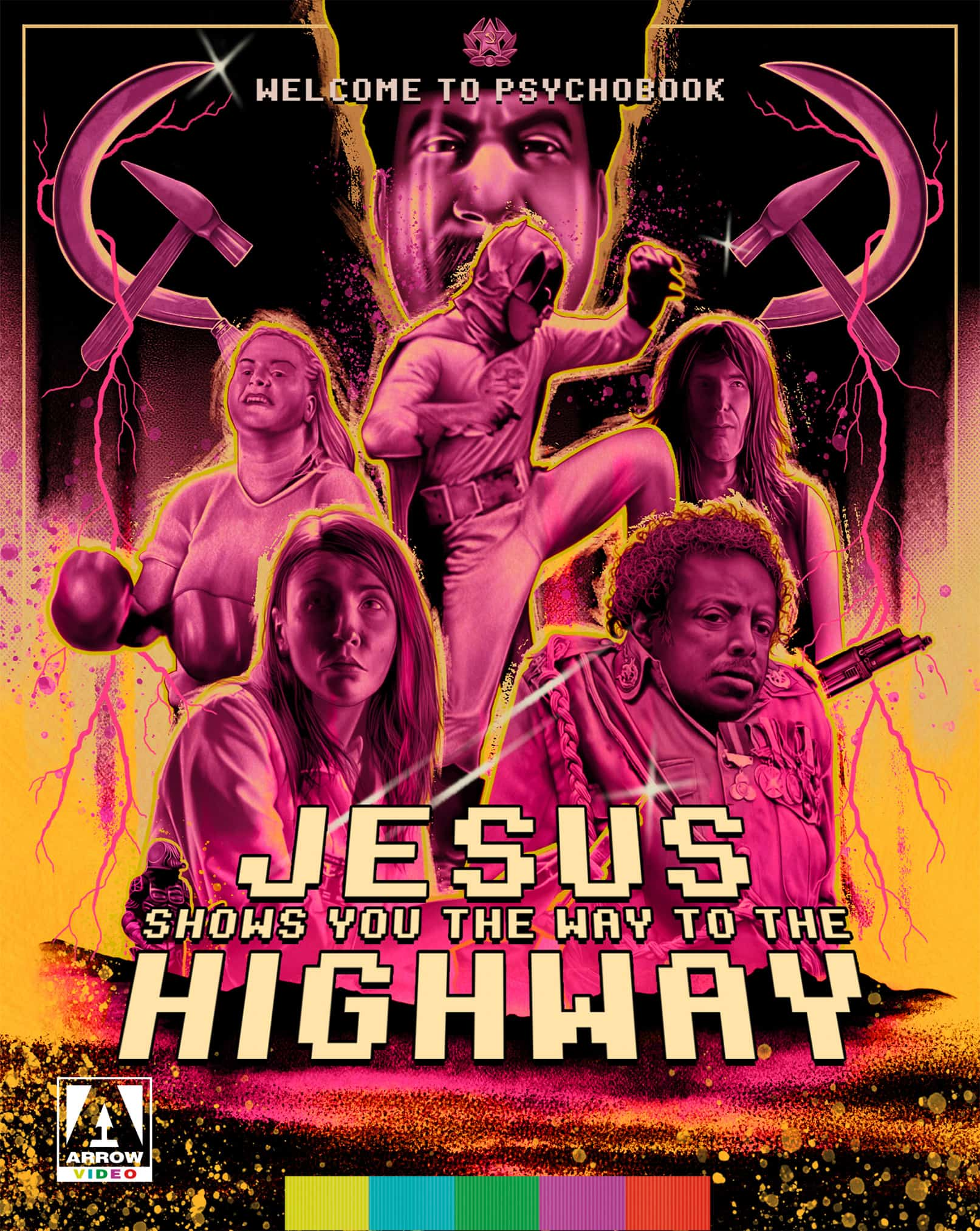 jesus shows you the way to the highway blu ray arrow films