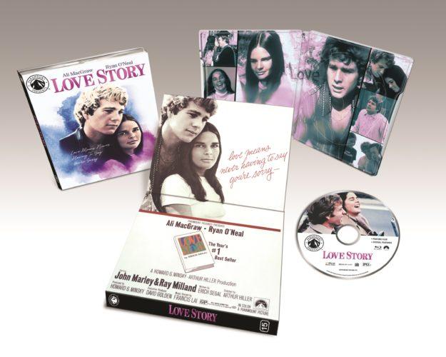 Love Story Yellowstone Blu-ray