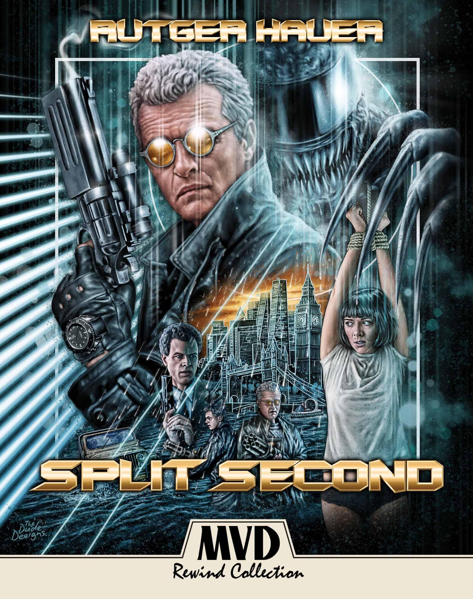 Split Second Blu ray MVD 2020