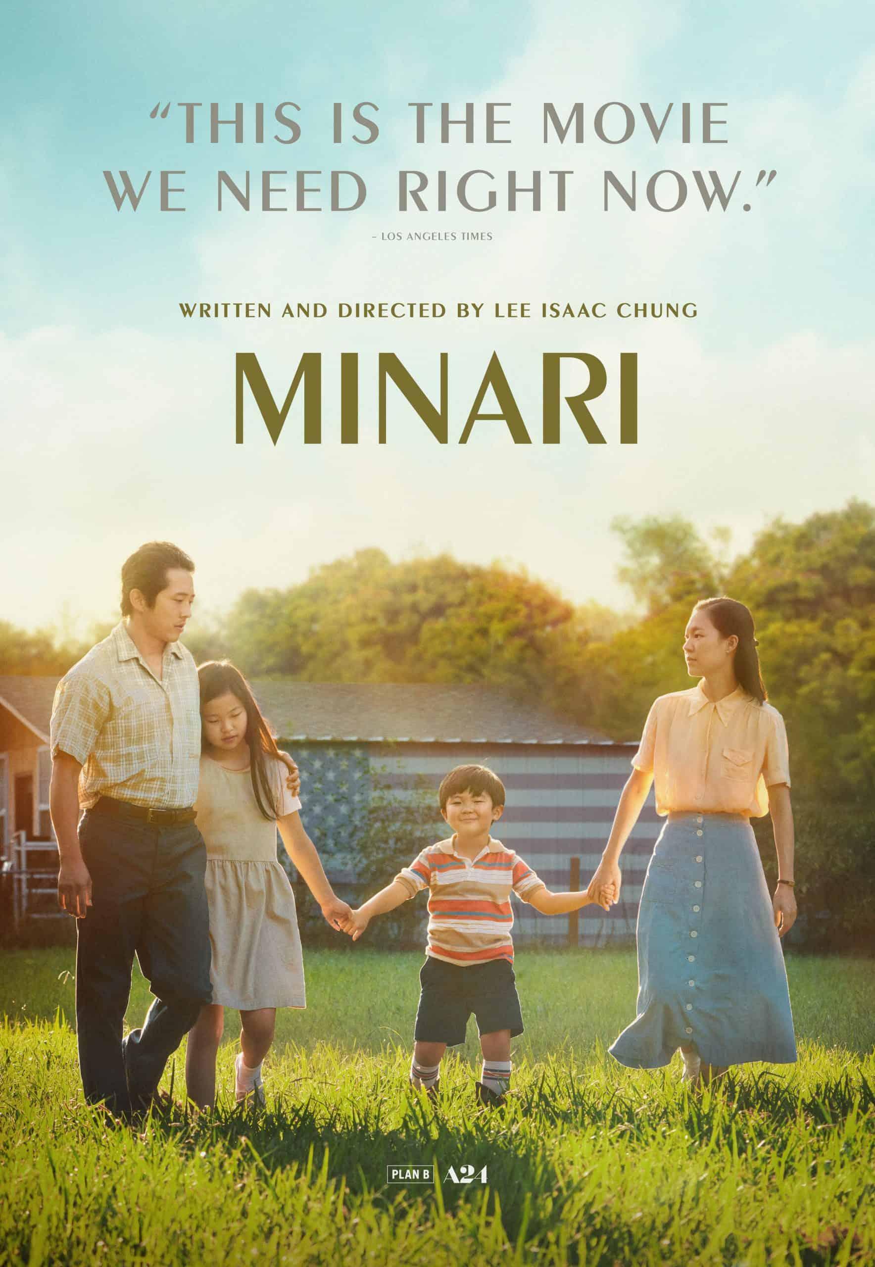 Minari Oscars Poster