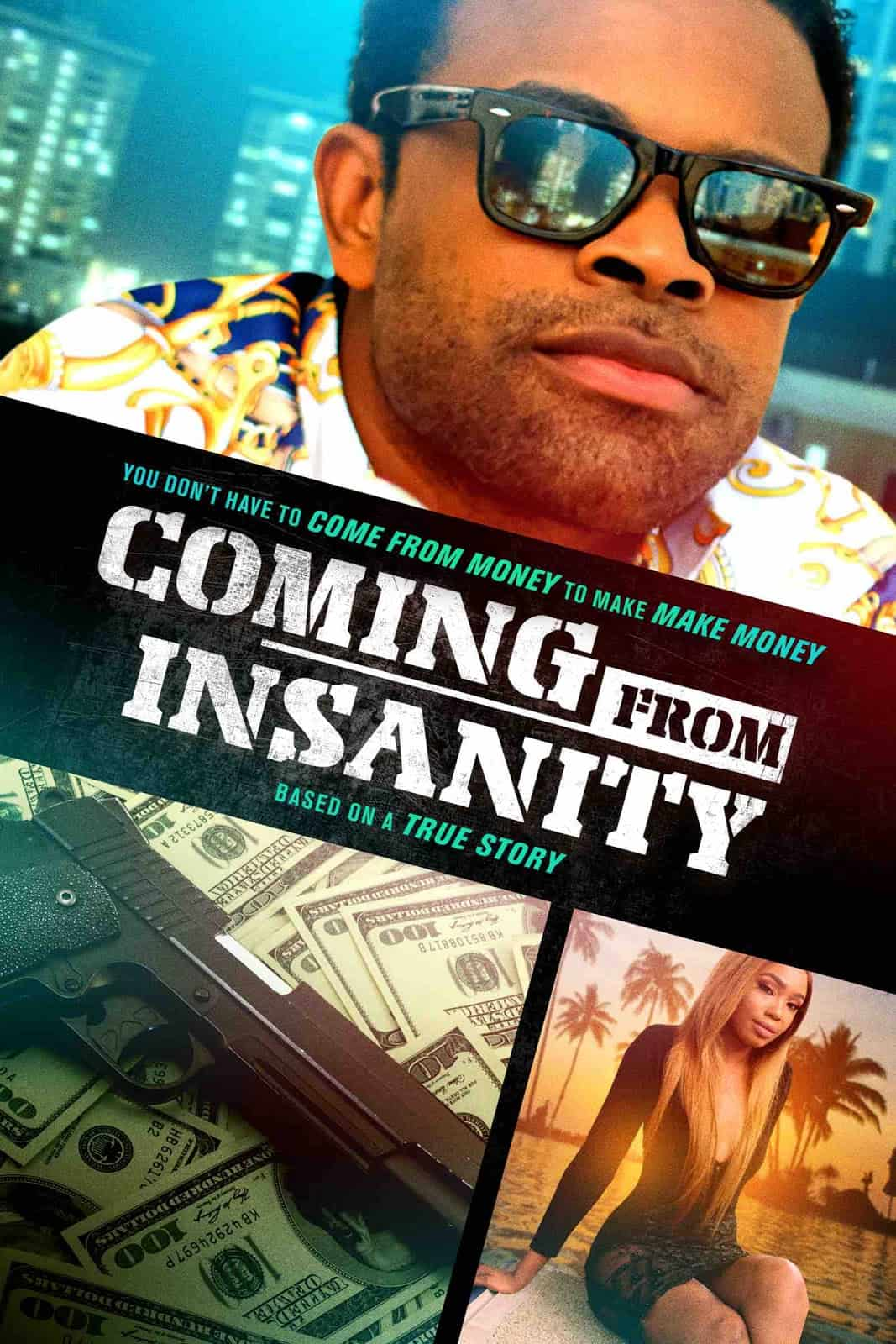 Level 33 Entertainment releases COMNG FROM INSANITY ON Demand 1/12/2021! 2