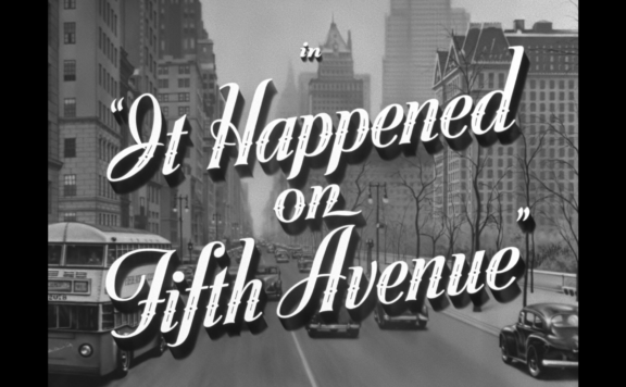 it happened on fifth avenue title