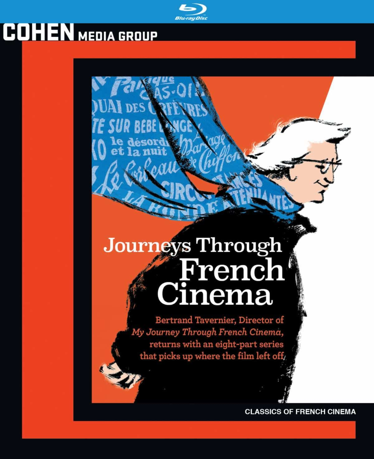 Journeys Through French Cinema Cohen Blu-ray review pile