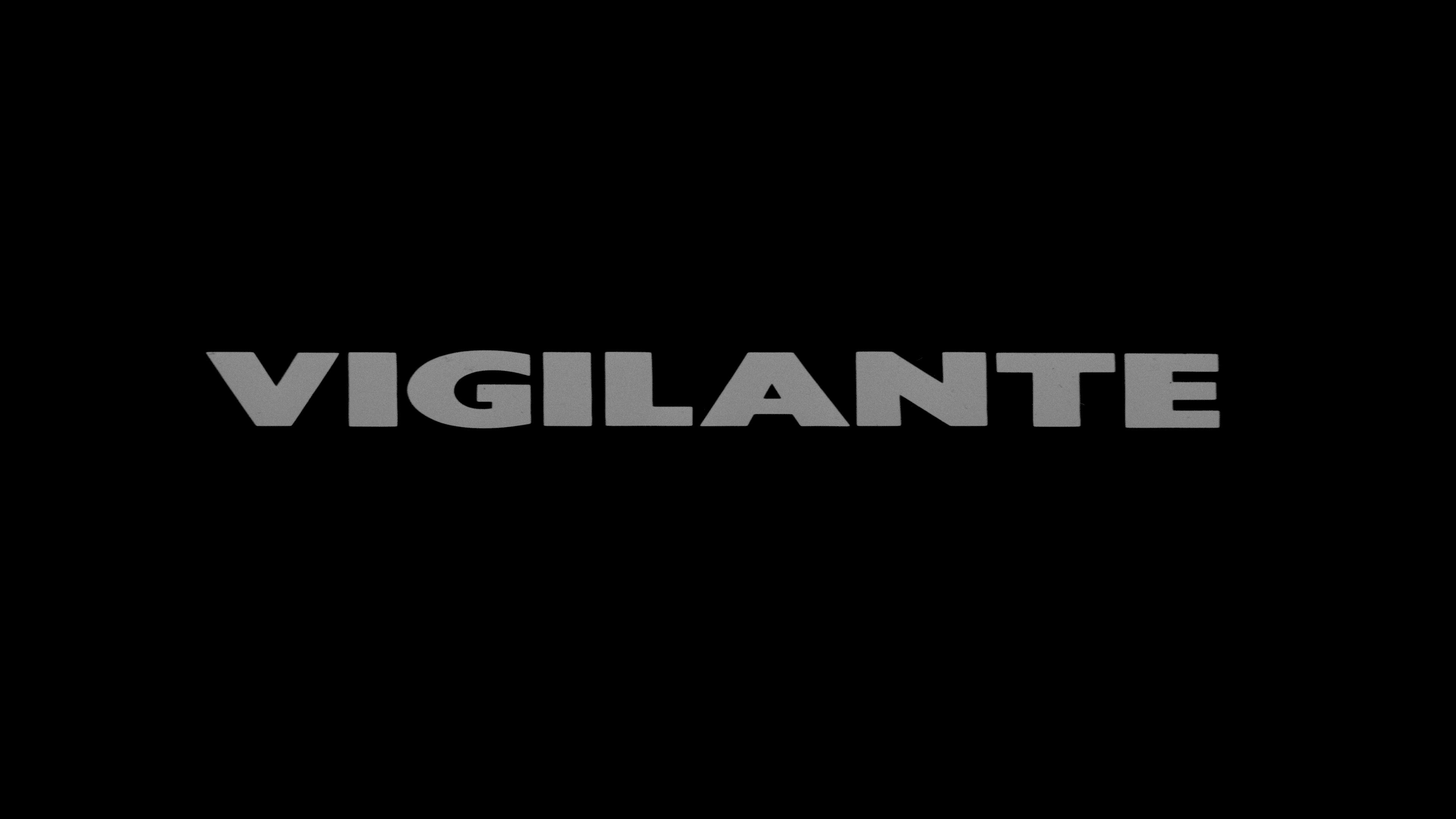 vigilante 4K UHD TITLE