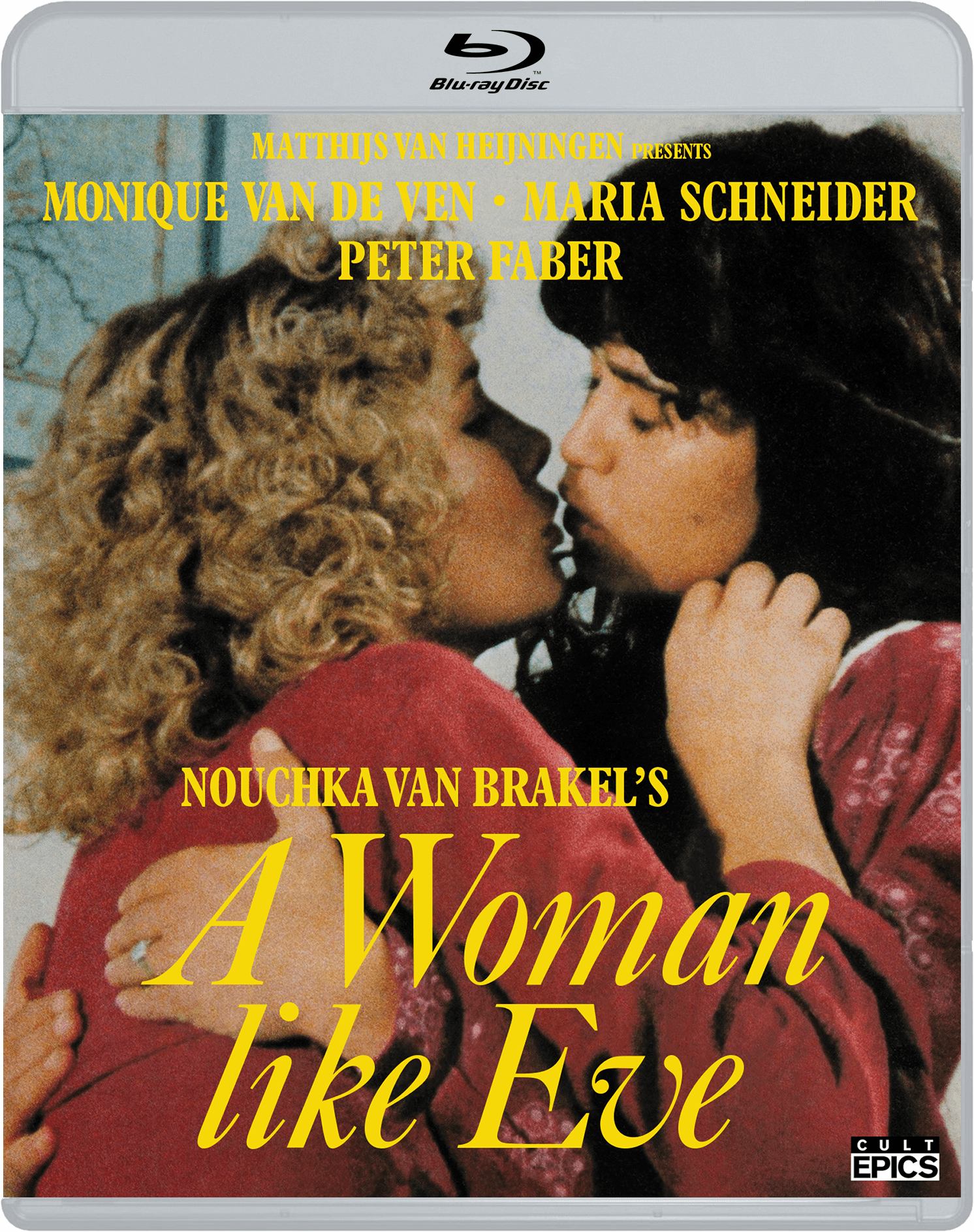 A Woman Like Ever Blu ray box art Cult Epics King Kirby podcast