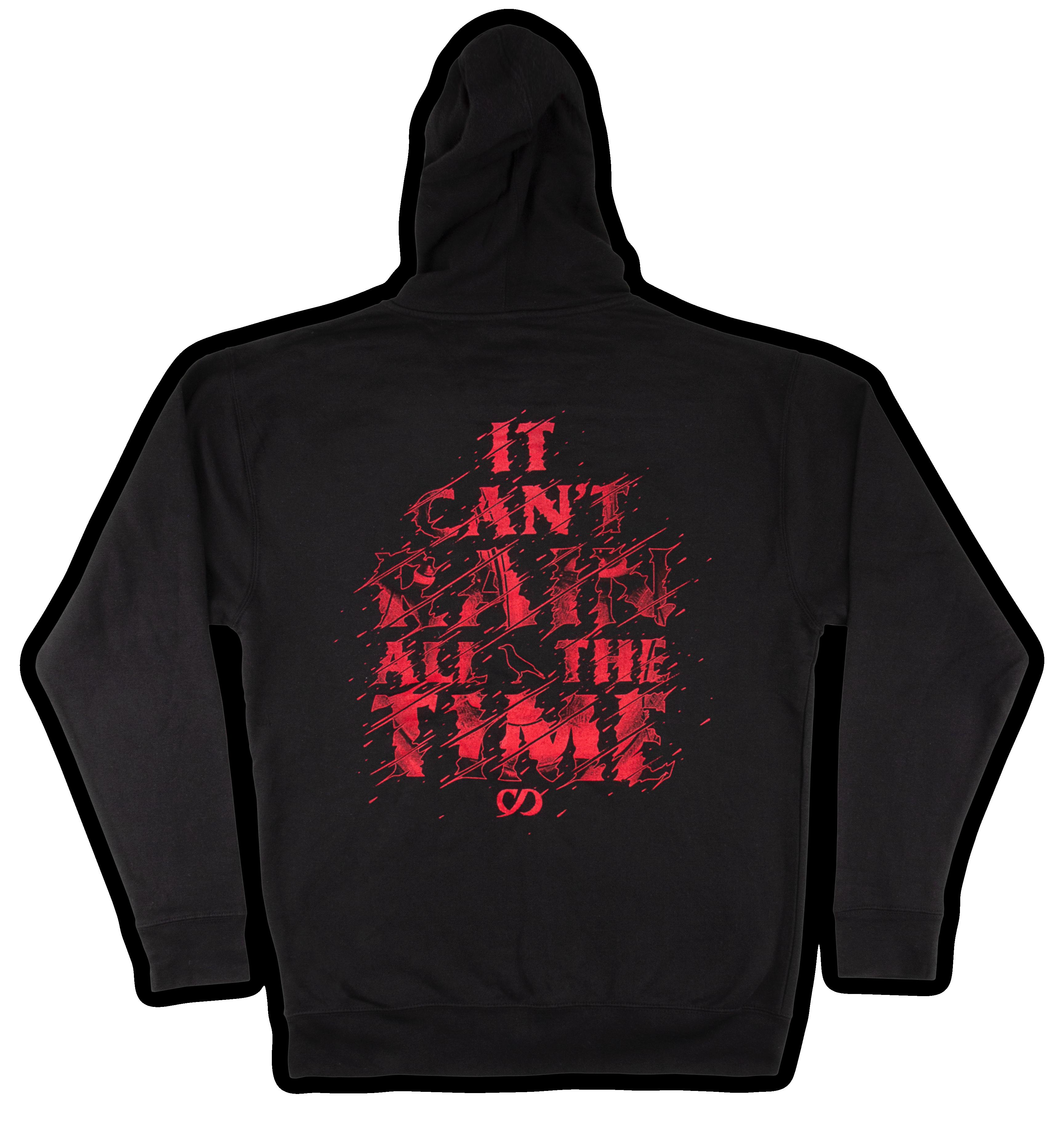 crow capsule hoodie