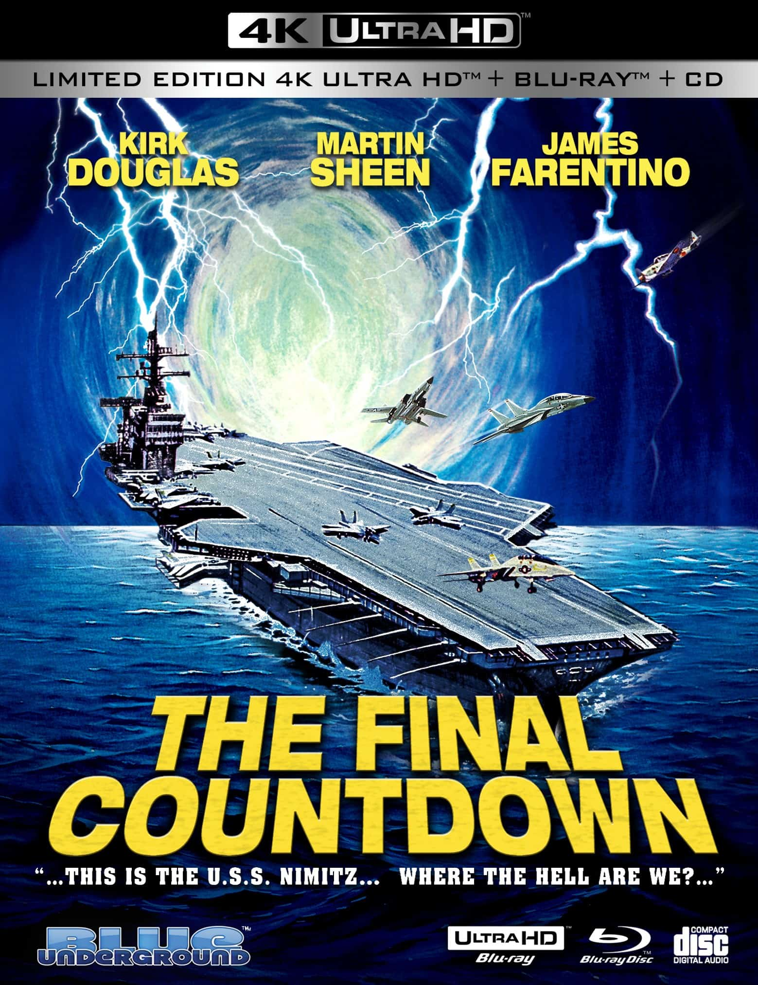 Blu-ray news: Best Picture, Greatest Show, Final Countdown 5