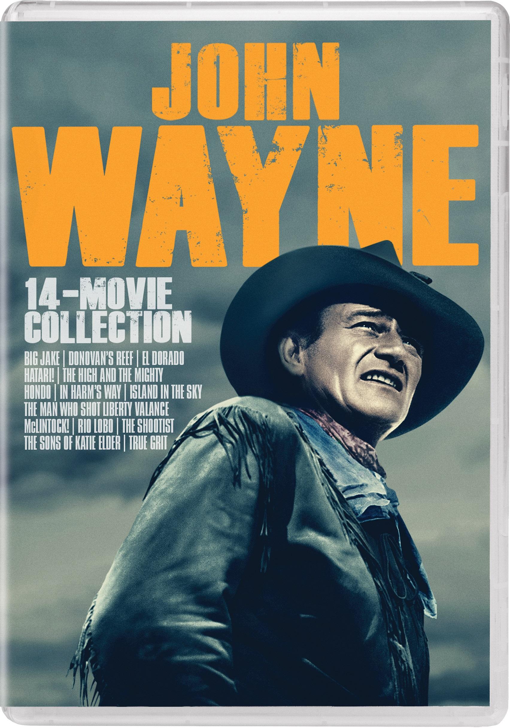 john WAYNE 14 MOVIE PARAMOUNT DVD