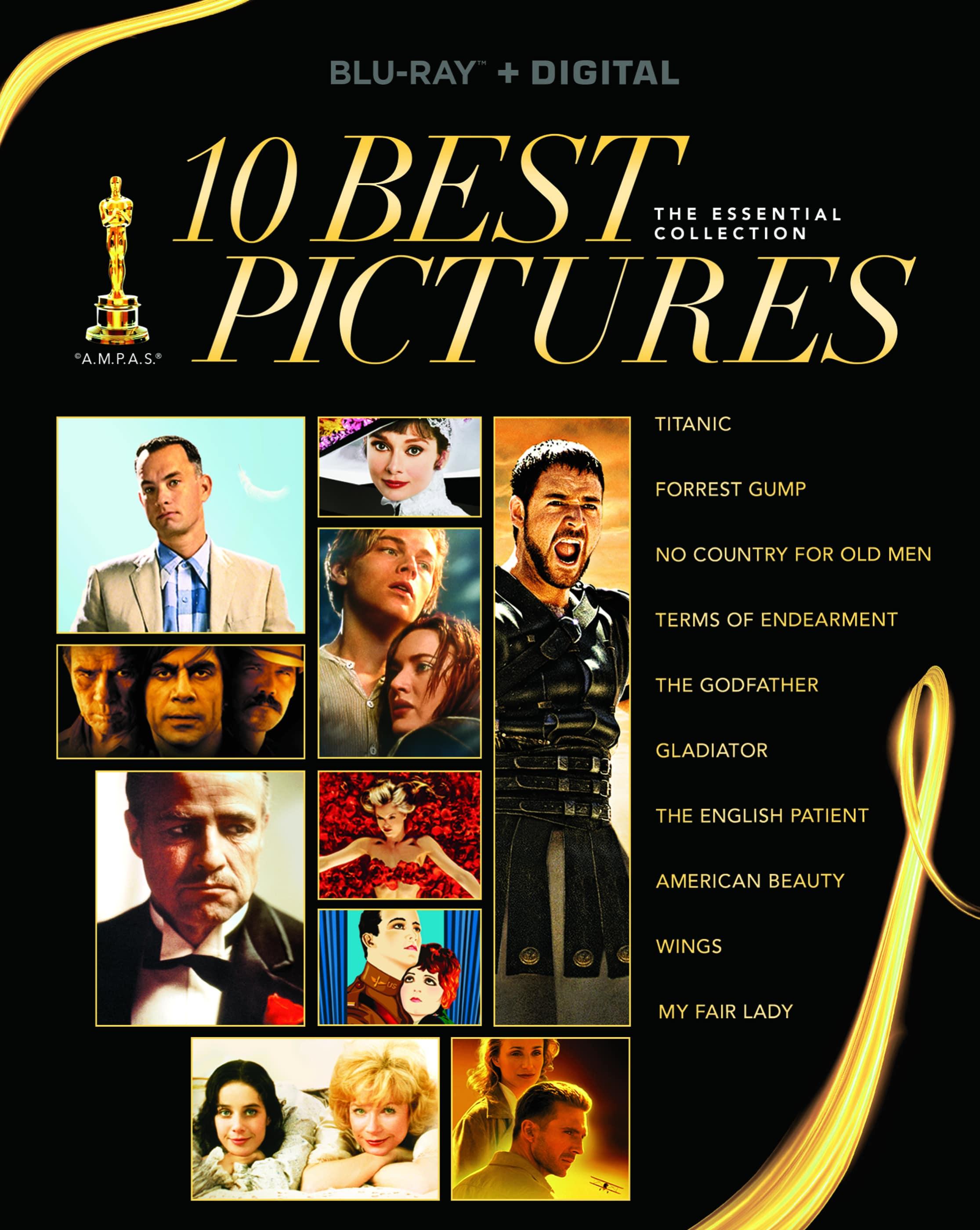 Best Picture Oscars 10 Blu-ray Paramount Miramax