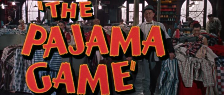 the pajama game title