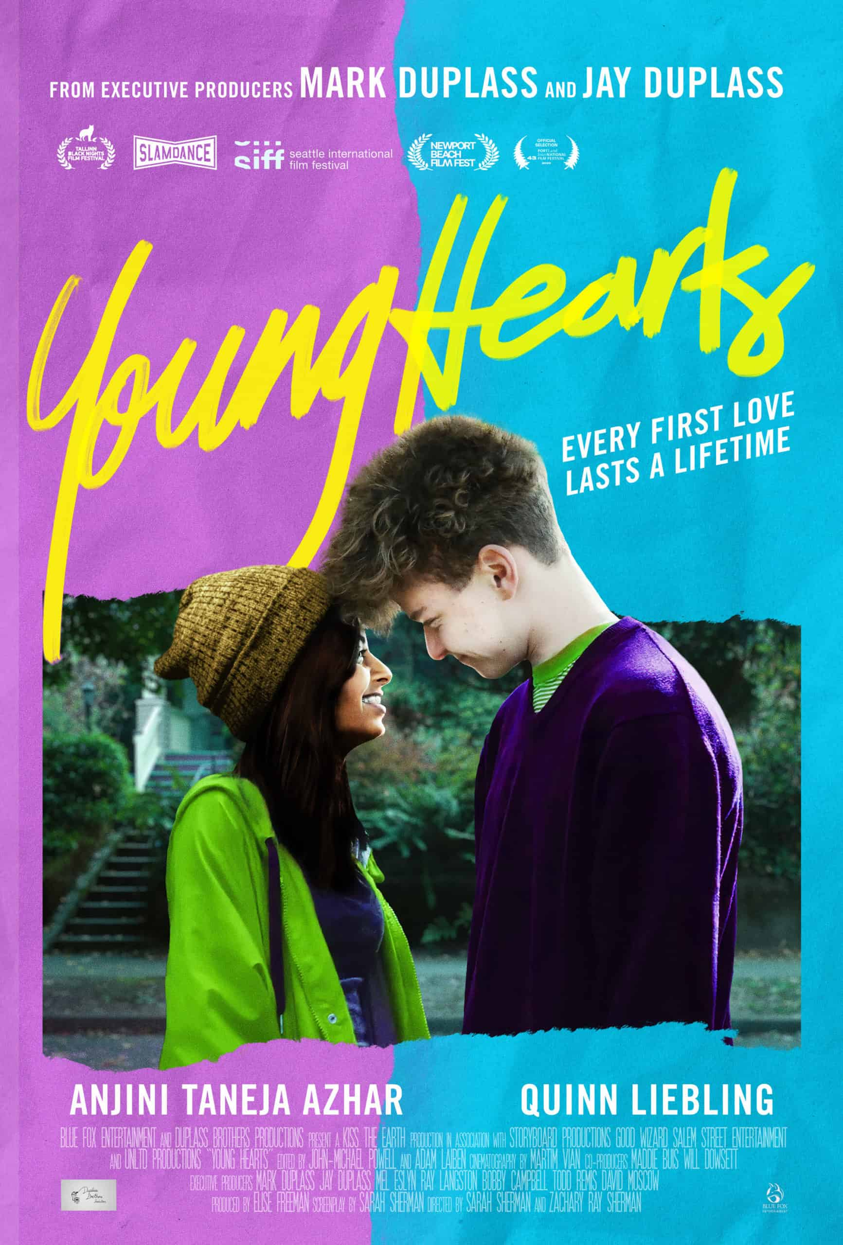 Young Hearts movie poster streaming