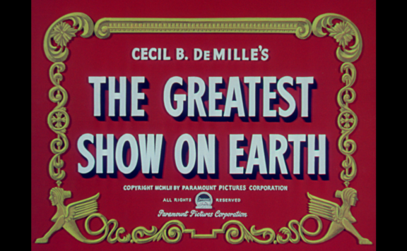 greatest show on earth title