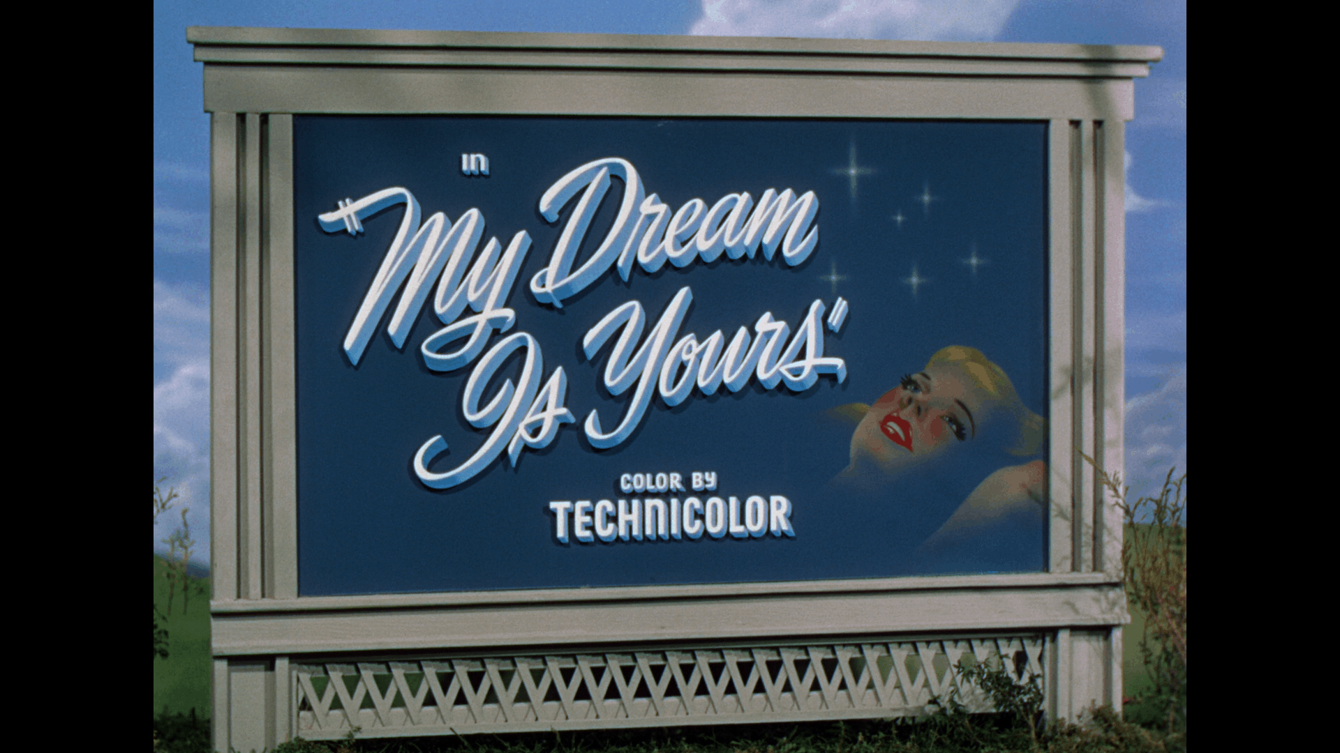 my dream is yours title