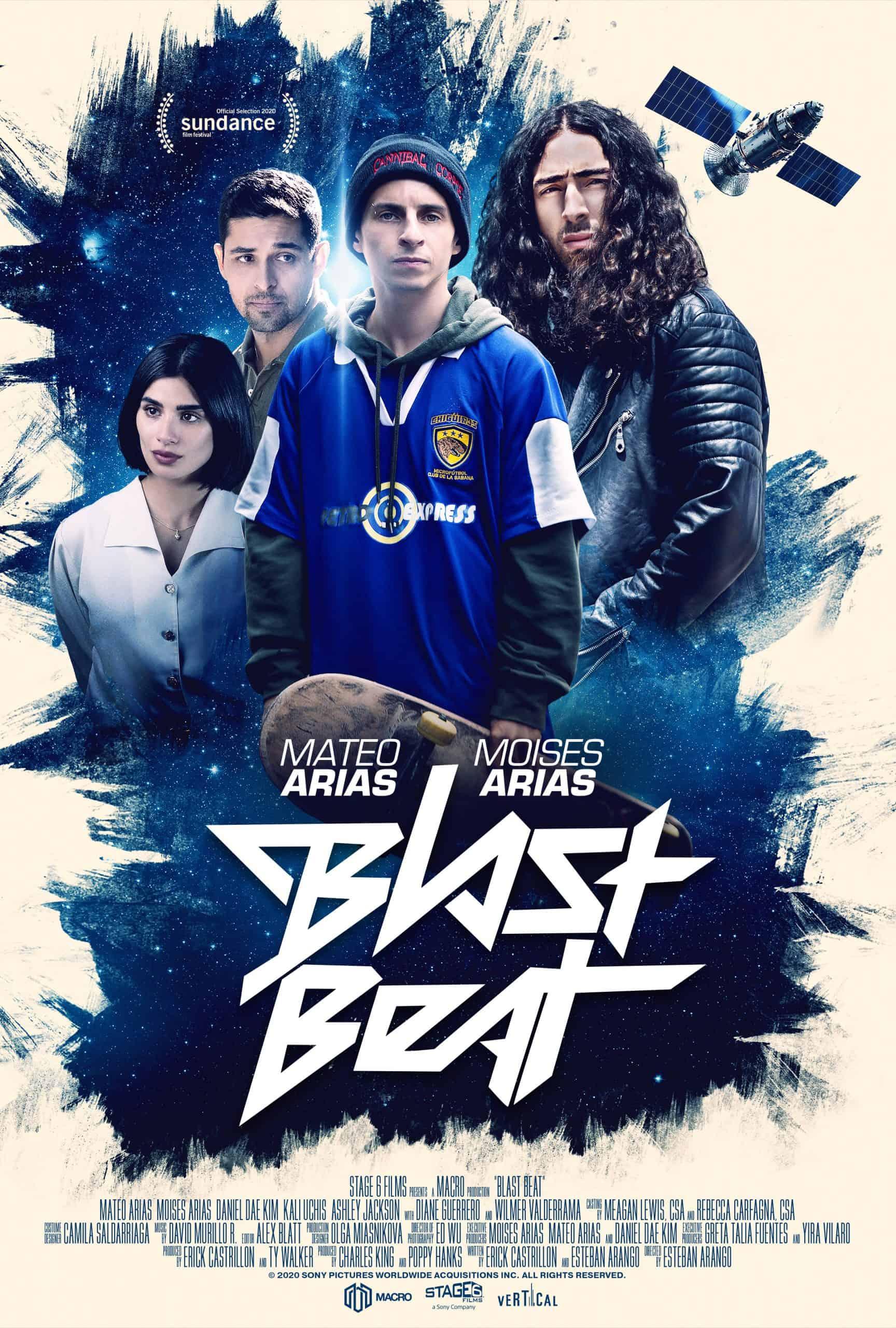 BLAST BEAT - Starring Mateo Arias, Moises Arias, Diane Guerrero, Daniel Dae Kim, Kali Uchis, Wilmer Valderrama 2