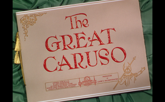 The Great Caruso title