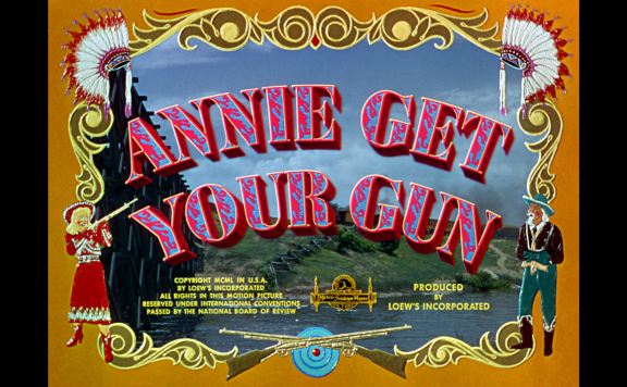 annie get your gun title