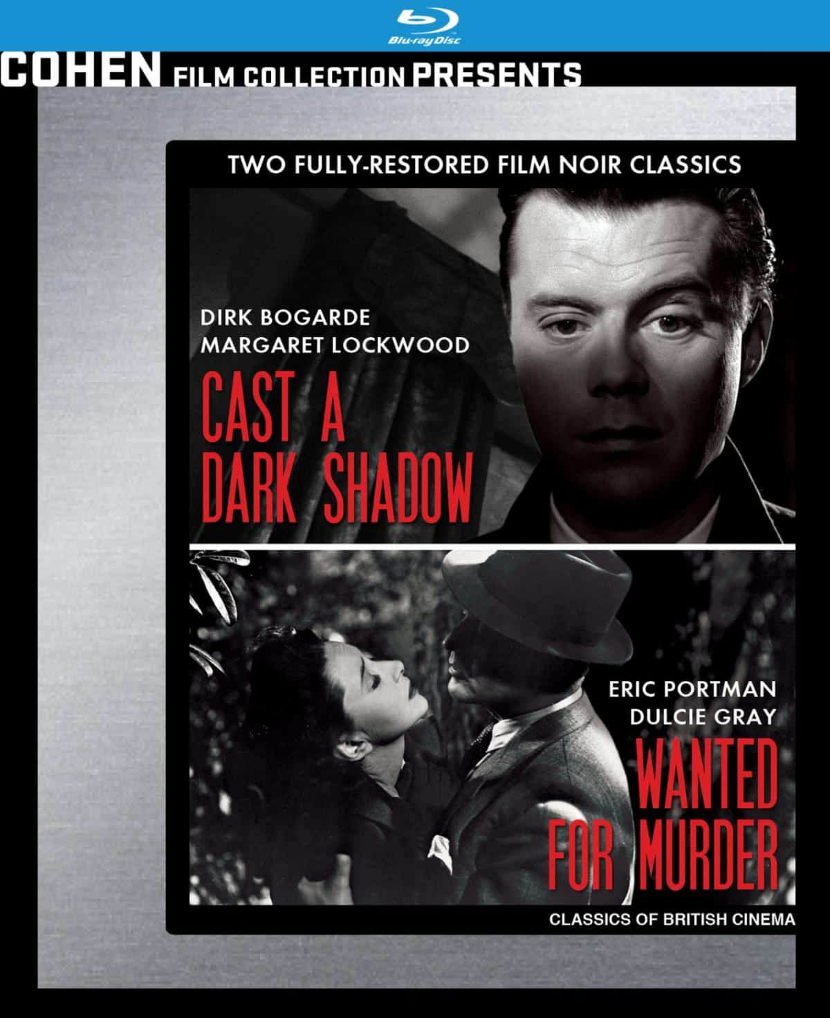 cast a dark shadow wanted for murder cohen blu-ray