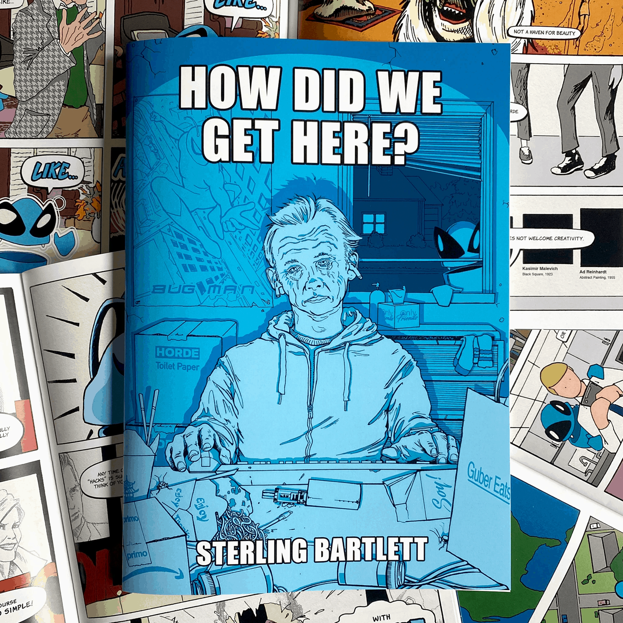 how did we get here sterling bartlett cover ftk comics