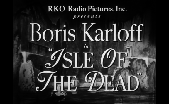 isle of the dead title