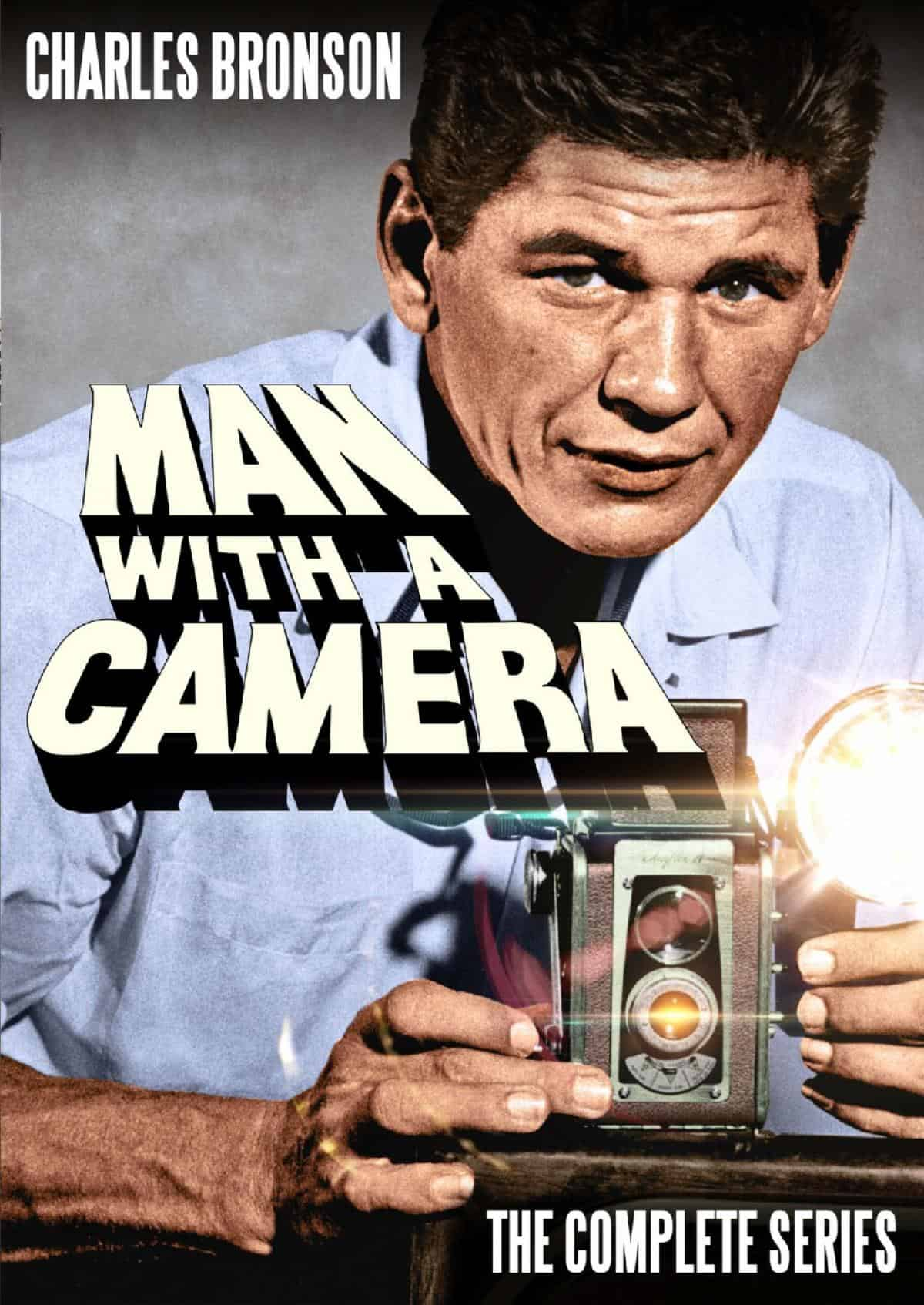 Charles Bronson Stars in Man with a Camera: The Complete Series: on digital & DVD For the First Time on 5/12 2
