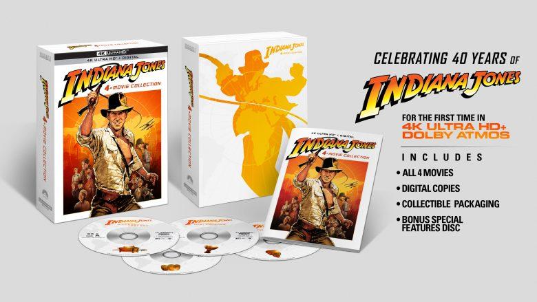 Indiana Jones 4 movie UHD 4K set