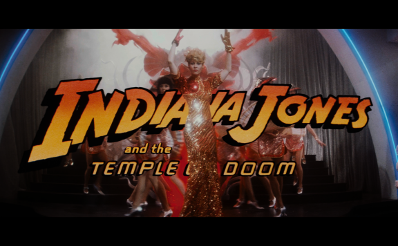 Indiana Jones and the Temple of Doom title