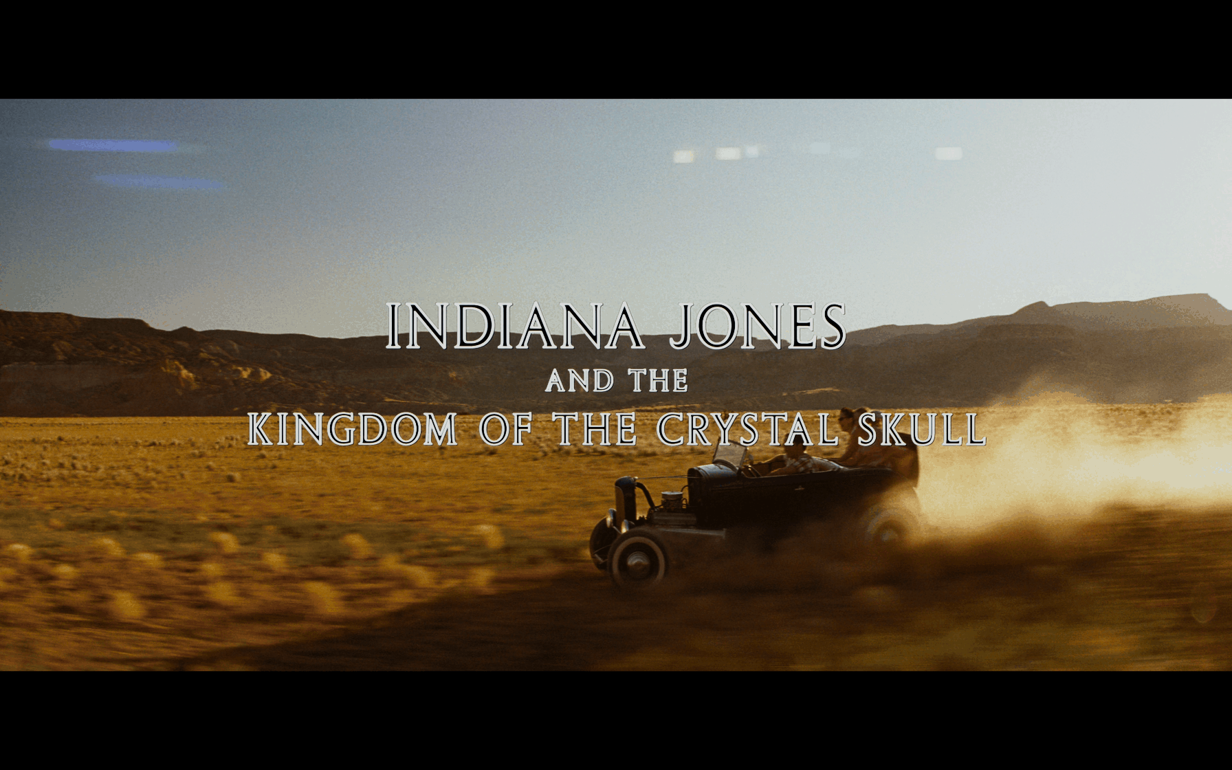 Indiana Jones and the Kingdom of the Crystal Skull 4K title