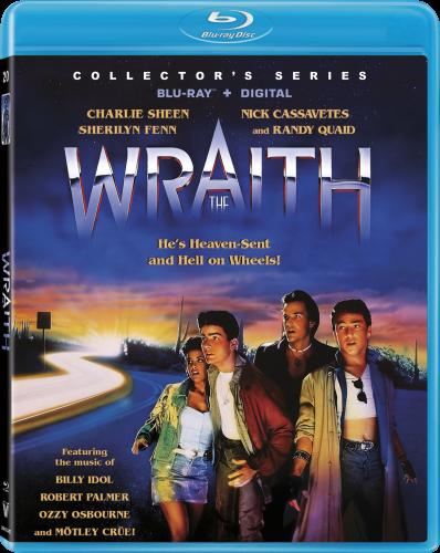 The Wrath Blu-ray case