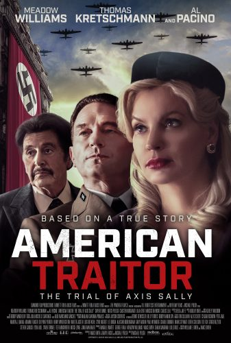 American Traitor Axis Sally poster