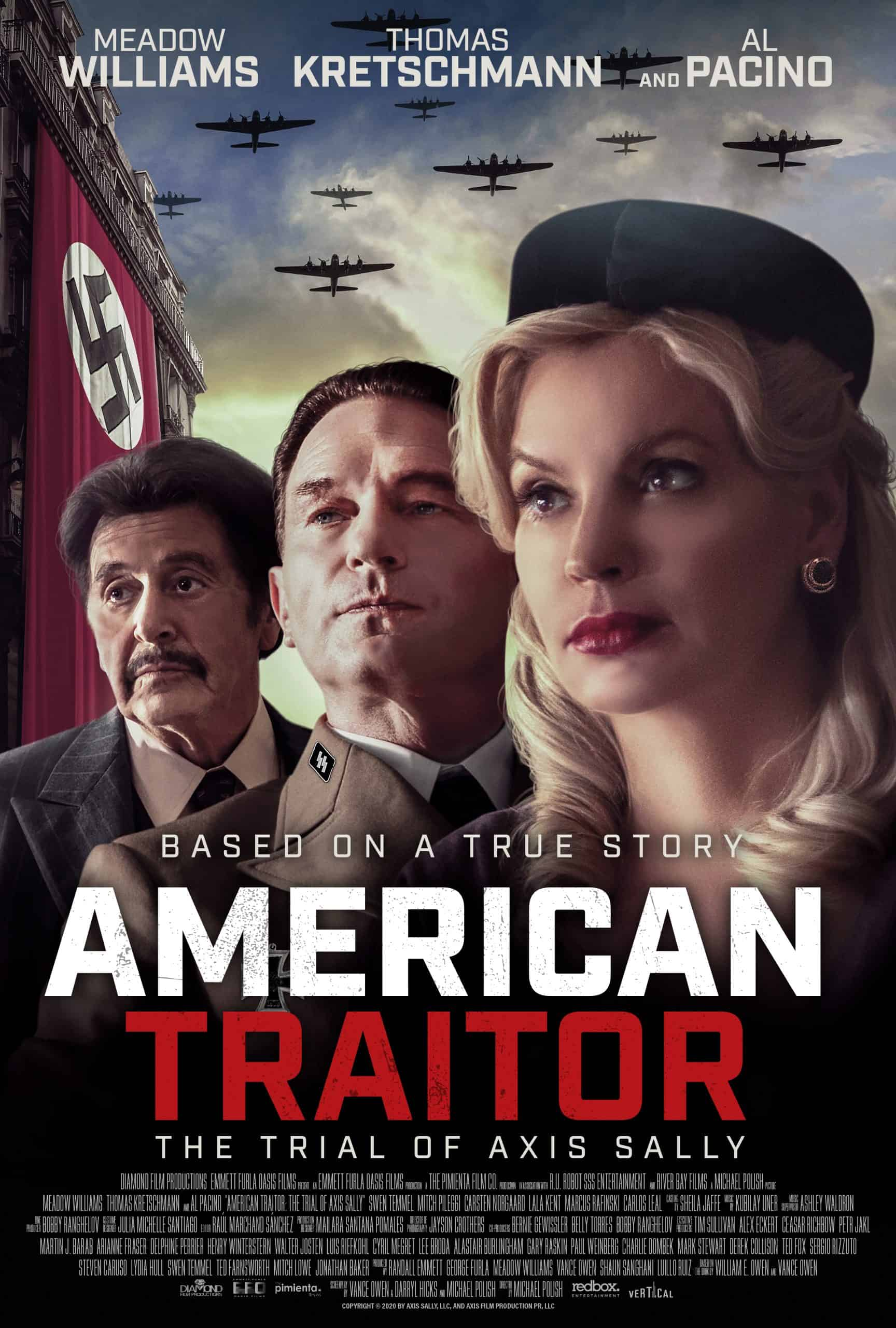 AMERICAN TRAITOR: THE TRIAL OF AXIS SALLY - In Select Theaters & On Demand NOW - WATCH SOME CLIPS! 2
