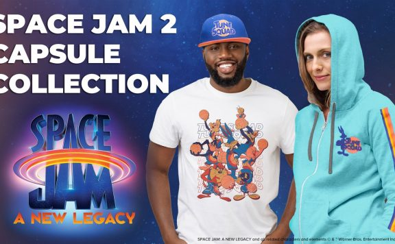 Space Jam Loot Crate Capsule Collection