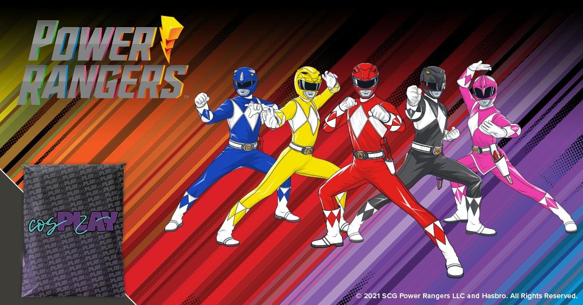 Loot Crate Power Rangers