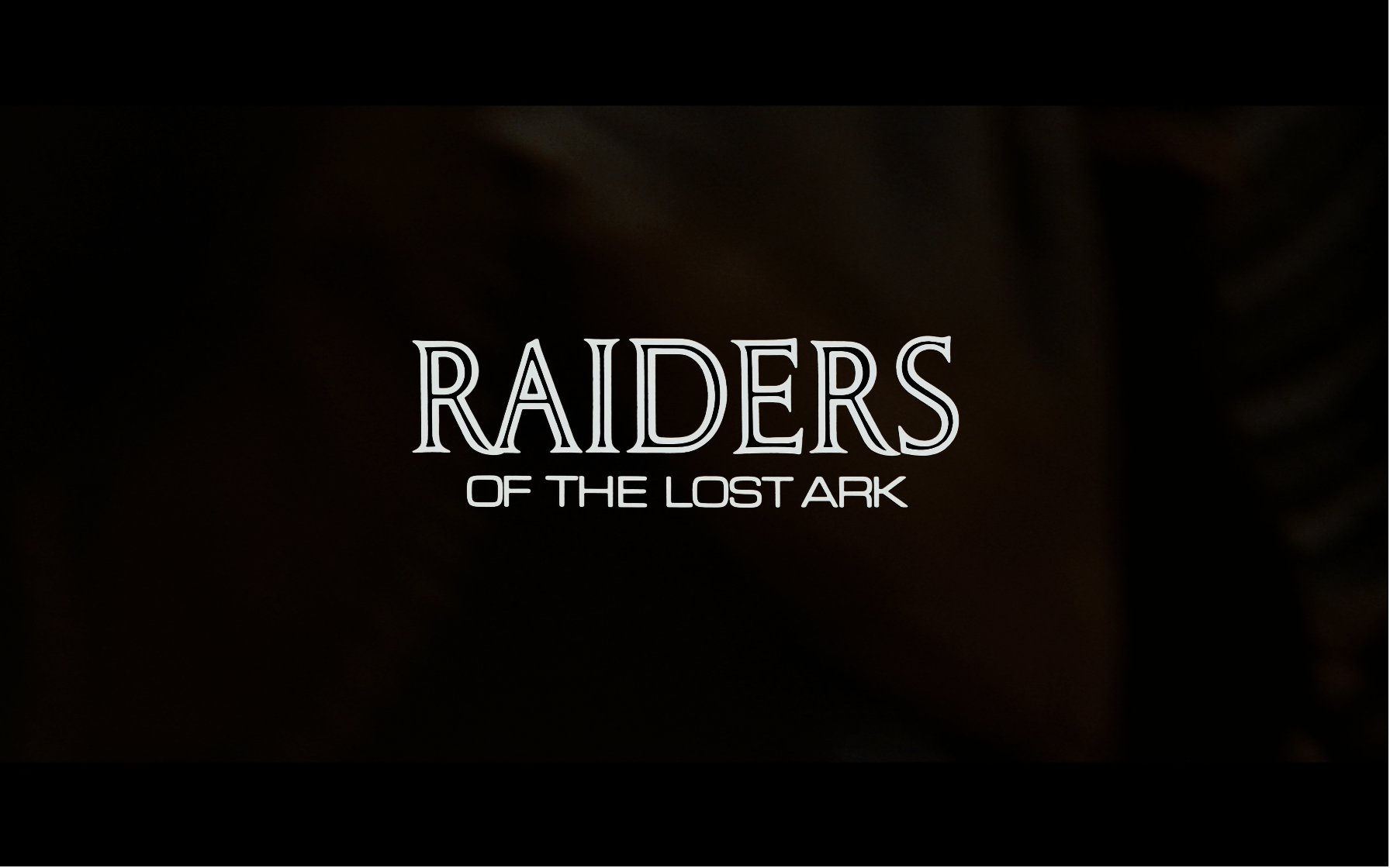 Raiders of the Lost Ark 4K title