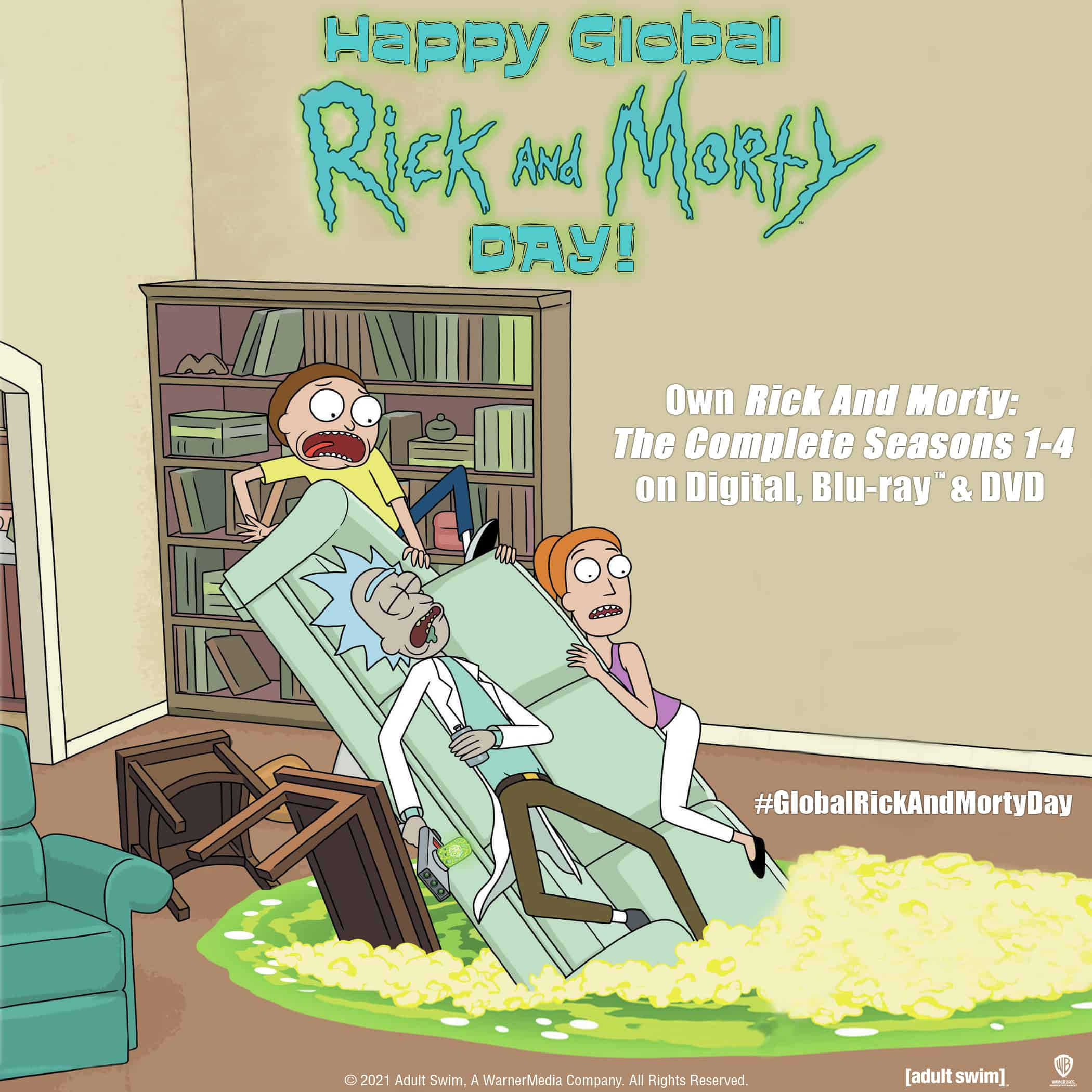 Global Rick and Morty Day meme