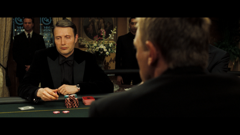 Casino Royale Hollywood Poker piece The Card Counter