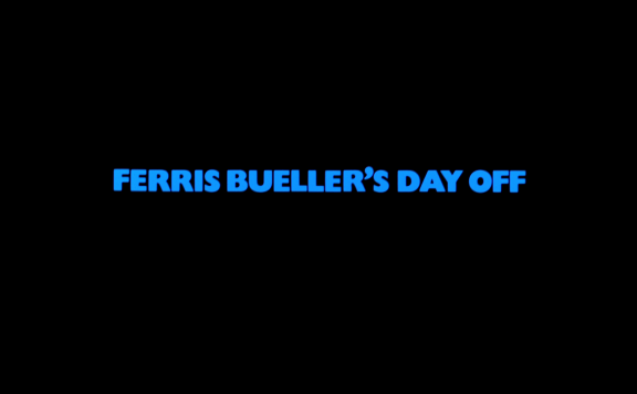 FERRIS BUELLER TITLE