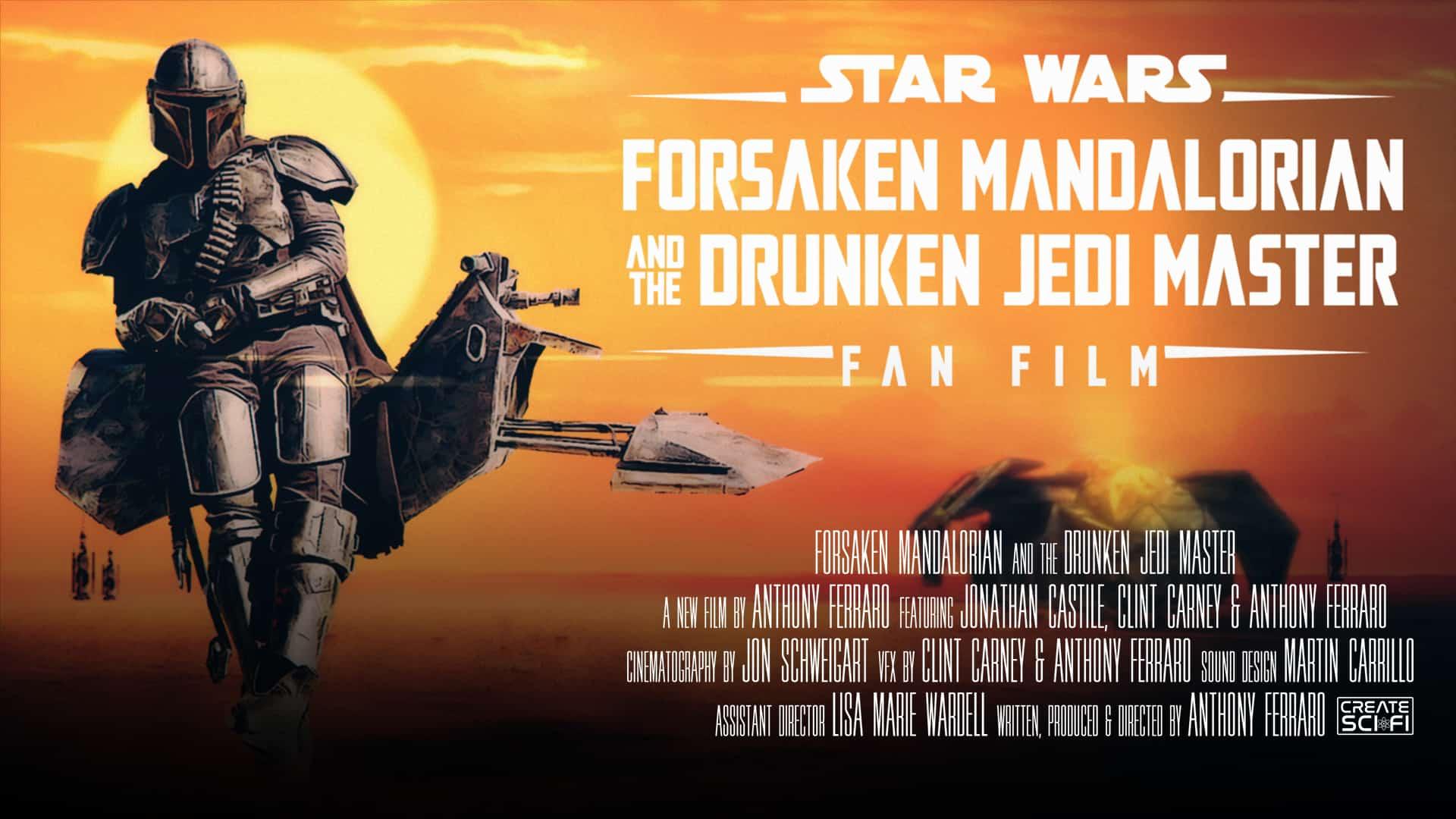 forsaken mandalorian and the drunken jedi master new clips