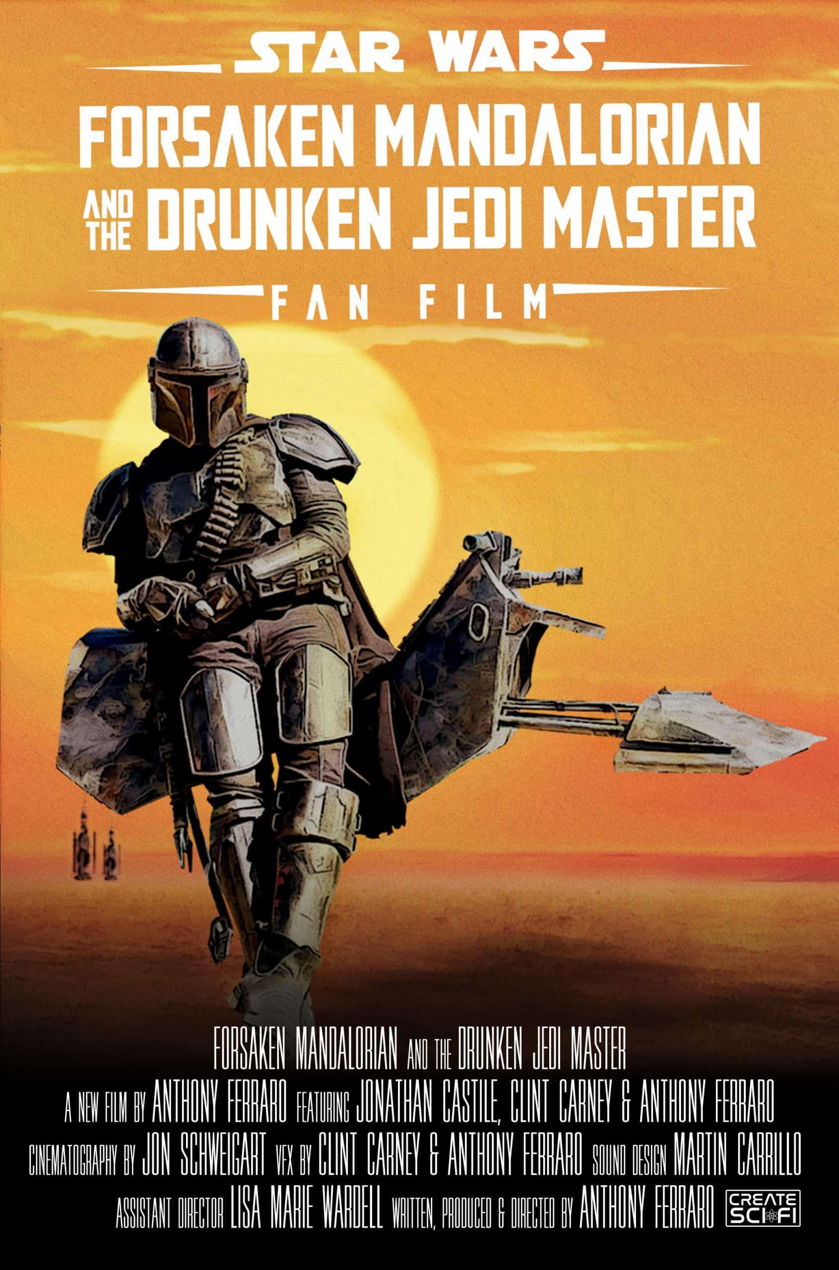 Forsaken Mandalorian and The Drunken Jedi Master launches August 6th on YouTube 2