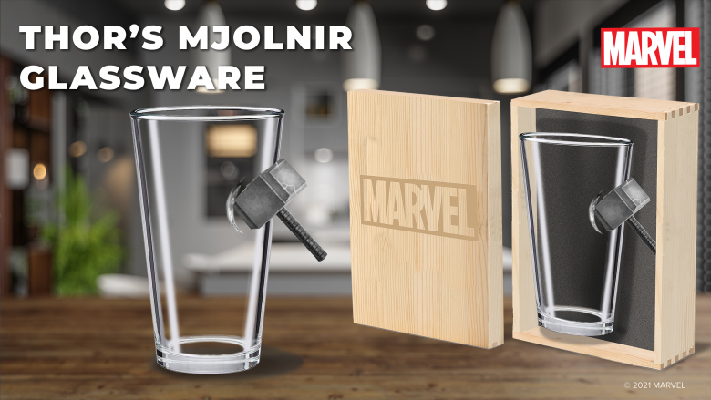 Marvel Glassware