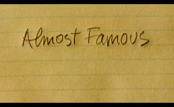 ALMOST FAMOUS 4K UHD TITLE